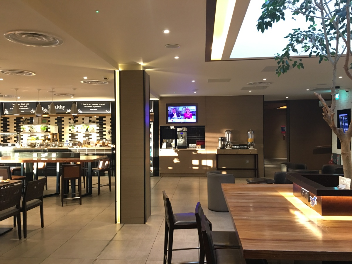 Plaza Premium Lounge (London Heathrow T4 - Departures)
