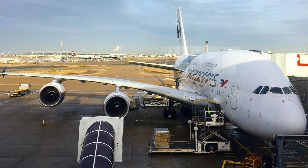 Malaysia Airlines 3 - London Heathrow to Kuala Lumpur