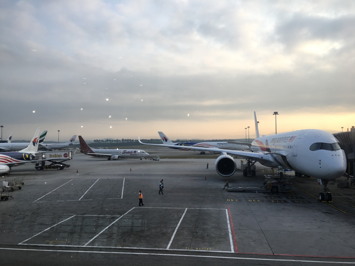 Malaysia Airlines 4 - Kuala Lumpur to London Heathrow